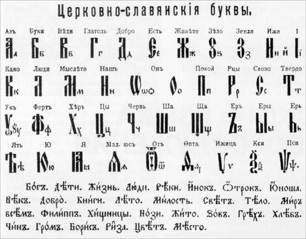 фото буквы буки